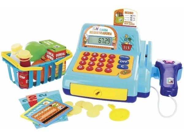 Caixa Registradora Mercadinho Brinquedo Infantil - Multikids