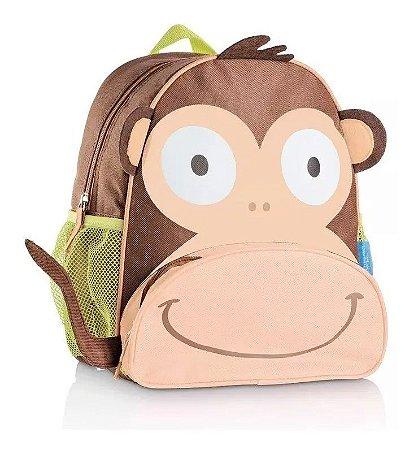 Mochila Infantil Escolar Macaco Multikids