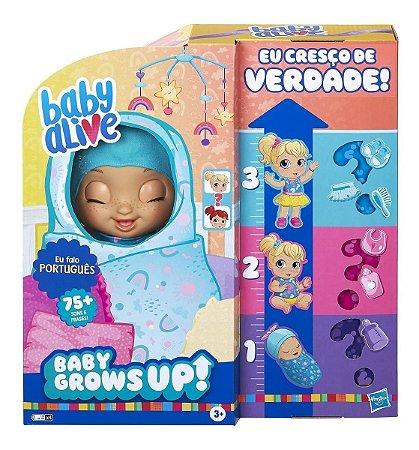 Baby Alive Grows Up Que Cresce De Verdade 75 Sons -  Hasbro