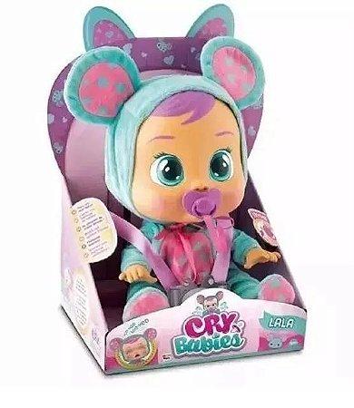 Boneca Cry Babies Lala Chora Com Lágrimas Br527 Multikids