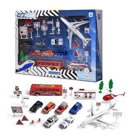Miniaturas Play Machine Aeroporto BR968 Multikids