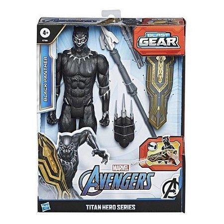 Boneco Avengers Titan Pantera Negra E7388 Hasbro