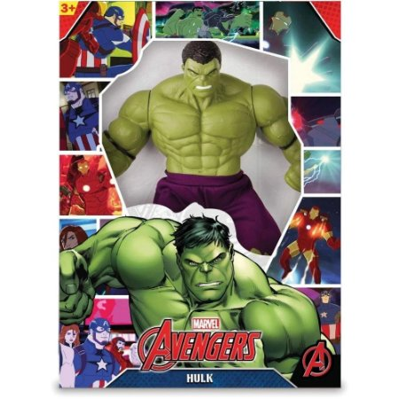 Boneco Hulk Marvel Revolution 45cm 0516 Mimo