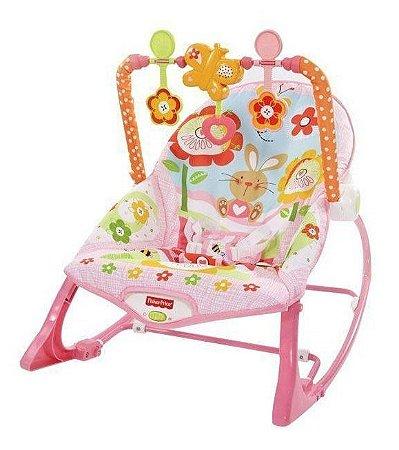 Cadeirinha De Descanso Fisher-price Reclinável - Baby Gear