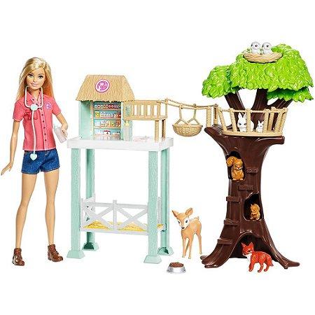 Barbie Cuidadora dos Bichinhos FCP78 Mattel