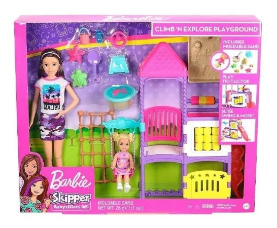 Barbie Skipper Babysitters Dia No Parque Ghv89 Mattel
