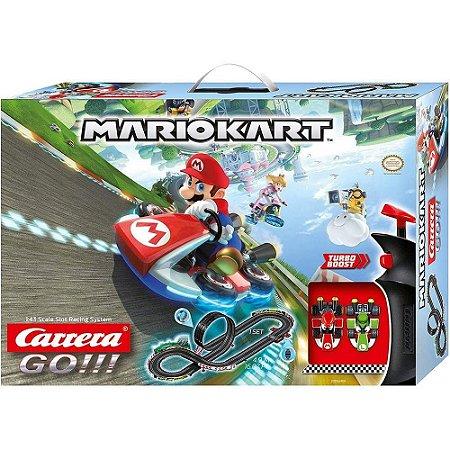 Pista De Autorama 4.9m Carrera Go Nintendo Mario Kart 1:43