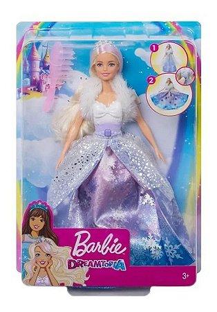 Boneca Barbie Dreamtopia - Princesa Vestido Mágico - Mattel