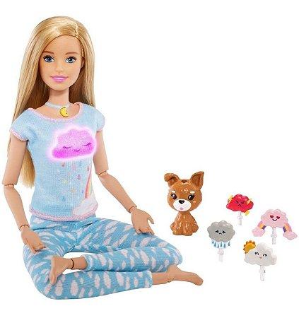 Boneca Barbie Meditação - Medita Comigo Mattel Gnk01
