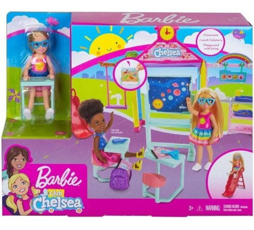 Barbie Family Chelsea Diversão Na Escola Mattel