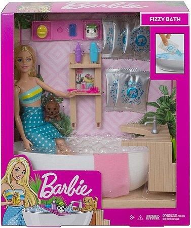 Barbie Fashionista Banho De Espumas - Mattel