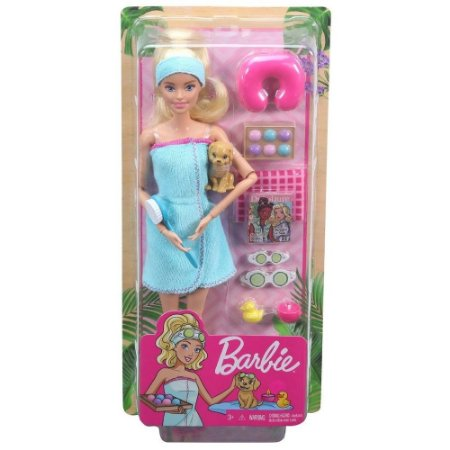 Barbie Fabulosa Dia De Spa - Mattel