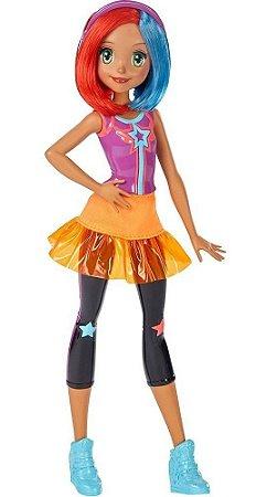 Barbie Boneca Amiga Com Cabelos Coloridos - Vídeo Game Hero
