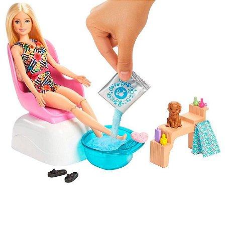 Barbie Salão de Manicure e Pedicure - Mattel