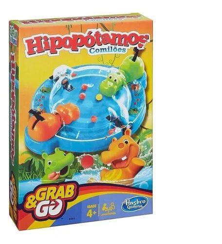 Jogo Hipopótamos Comilões Grab & Go Hasbro