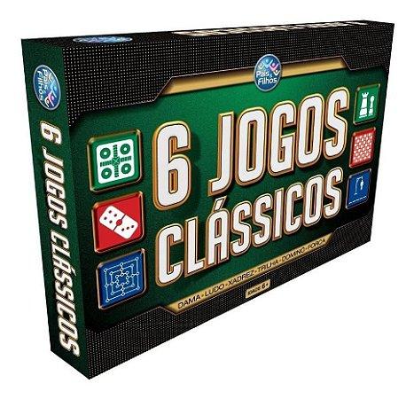 Jogo - 6 Jogos Clássicos - Pais E Filhos 2759