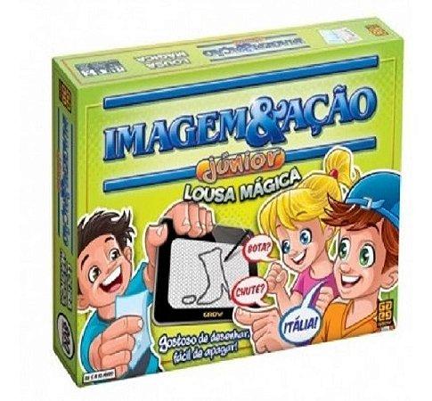 Jogo Imagem E Acao Com Lousa Magica 2590 Grow