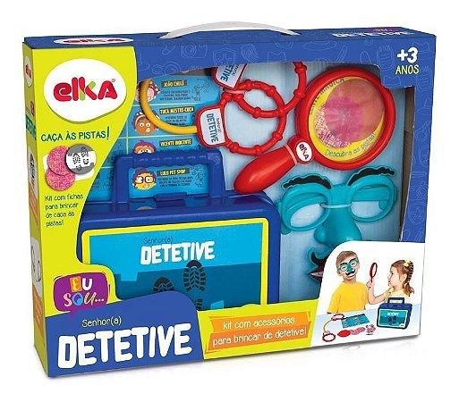 Jogo Infantil Senhor Detetive Elka Ref 1049