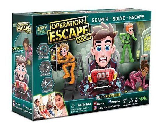 Jogo Estratégico Missão Escape Spy Code Operation - Multkids