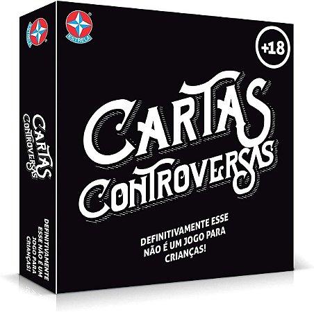 Jogo - Cartas - Controversas - Estrela ACIMA DE 18 ANOS