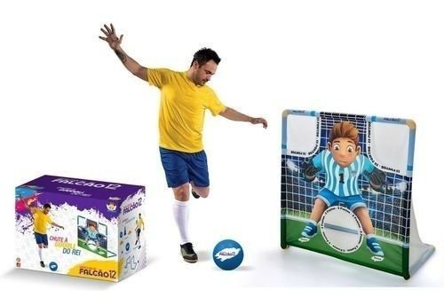 Jogo Chute A Gol Do Rei Falcao Angel Toys Gol a Gol