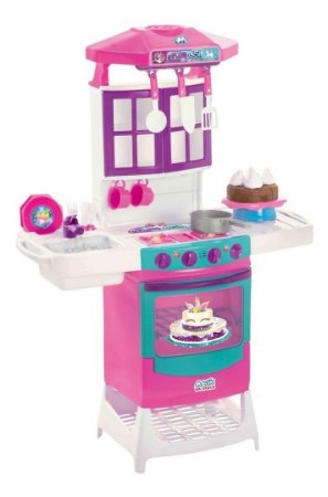 Cozinha Infantil Meg Doll Magic Toys Unicórnio 8012
