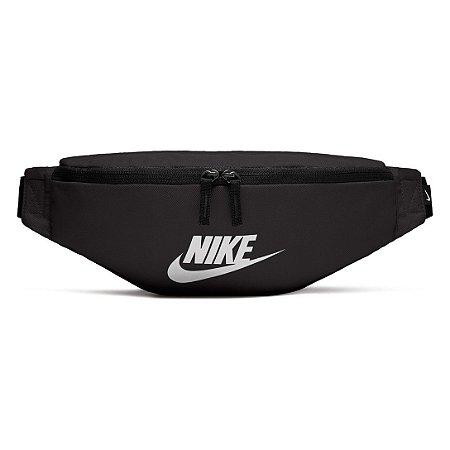 Pochete Nike Heritage Hip Pack - Branco e Preto