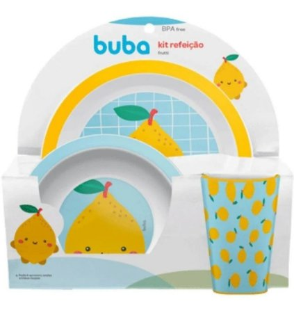 Kit Refeição Frutti Limão - Buba