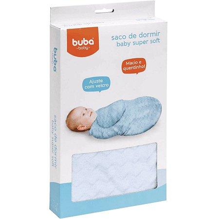 Saco De Dormir para Bebe Baby Super Soft Azul Buba