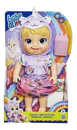 Boneca - Baby Alive - Tinycor - Gatinha - Hasbro
