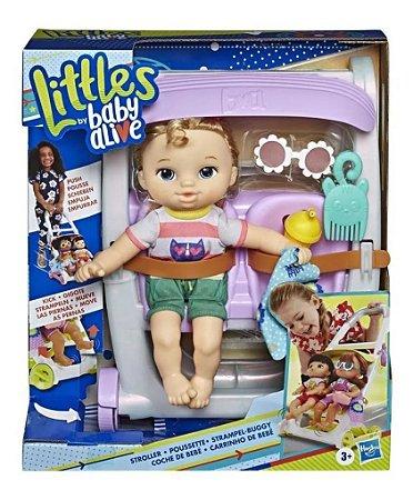 Boneca Baby Alive Littles C/ Carrinho Hasbro - Sortidas