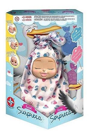 Boneca Bebe Surpresa Sortidos - Estrela