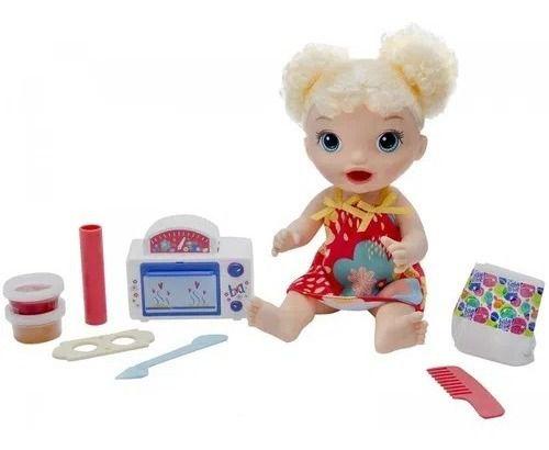 Boneca Baby Alive Meu Primeiro Forninho - Loira - E1947