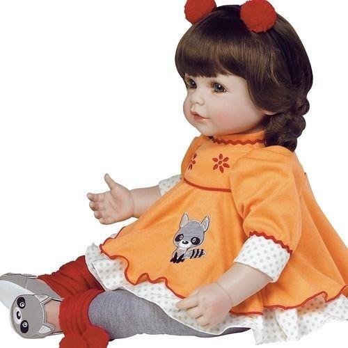 Boneca Bebe Reborn Adora Doll Macaraccoon Shiny Toys