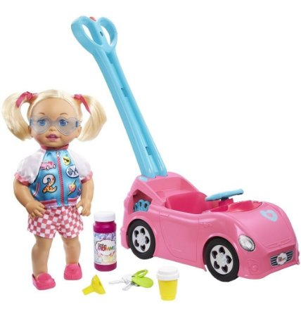 Boneca Little Mommy Passeio Com Bolhas - Mattel