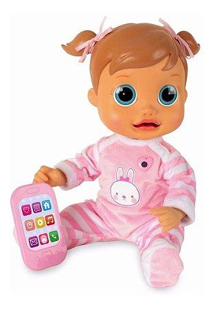 Boneca Interativa Baby Wow Analu Movimenta a boca p/ falar