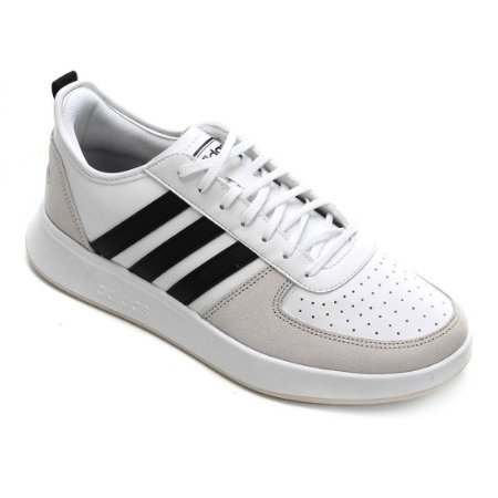 Tênis Court80S Masculino Branco Adidas