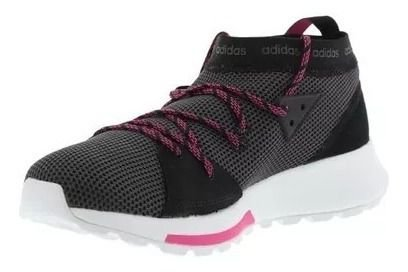 Tênis Adidas Explorer Quesa Preto com Rosa  - Feminino