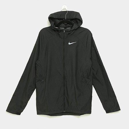 Jaqueta Nike Tam. M Essential Masculina - Preto E Prata