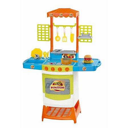 Cozinha Infantil Master Burguers - Magic Toys 8023