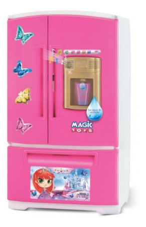 Geladeira Mágica Infantil Cozinha Menina Meg - Magic Toys