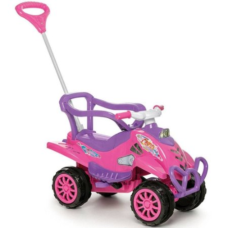 Quadriciclo Infantil Cross Turbo - Calesita - Rosa