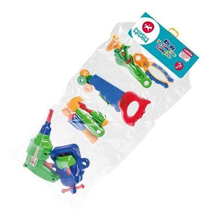 Kit Ferramentas Infantil 16 Peças Oficina - Calesita 0457