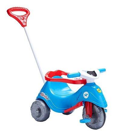 Triciclo Infantil Calesita Com Empurrador - Lelecita