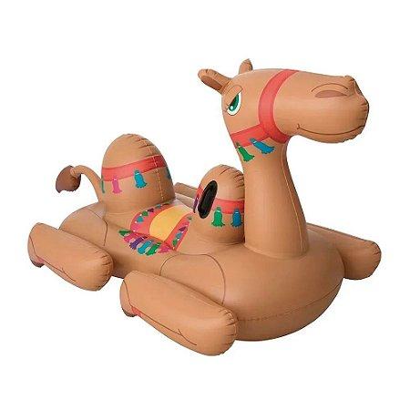 Boia Camelo Inflável Suporta até 90kg 1983 Mor