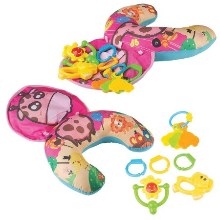 Almofada De Atividades Para Bebê Rosa 2007-7 Braskit