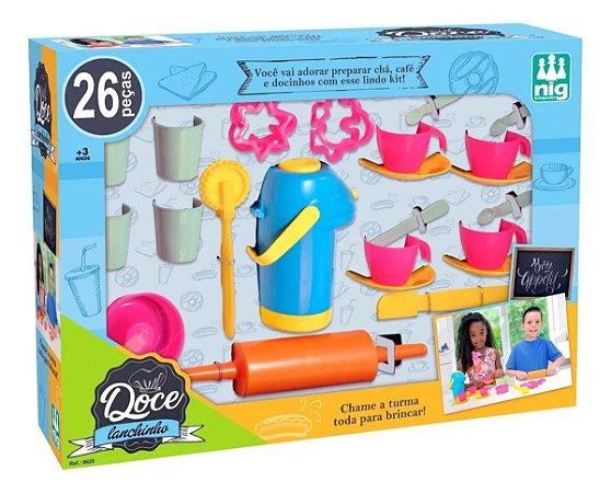Acessórios Cozinha Infantil Doce Lanchinho 0626 Nig
