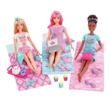 Barbie Princesa de Aventura Festa do Pijama GJB68 Mattel