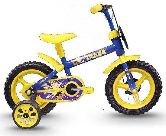 Bicicleta Track Arco Iris Infantil Aro 12