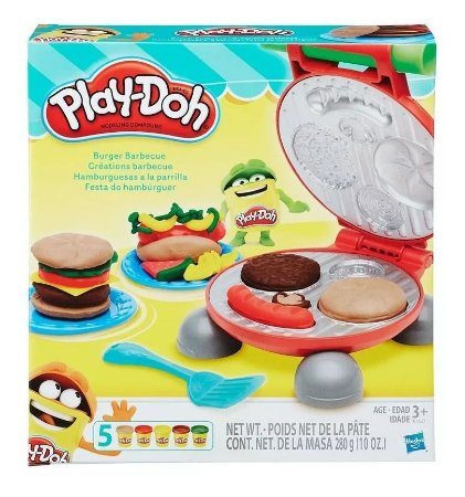 Massa Play Doh Kitchen Creations Festa Dos Hamburguers B5521
